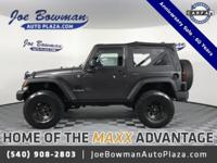 New Price! Clean CARFAX. 2014 Jeep Wrangler Sport Anvil