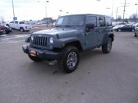 Jeep Certified, LOW MILES - 6,423! Rubicon trim.