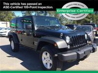 Jeep Wrangler Unlimited Off-road enthusiasts, this