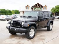 Jeep Wrangler Sport 3.6L Leather 1 Owner Vehicle All of