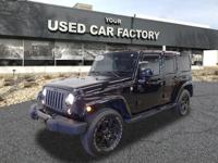Options:  2014 Jeep Wrangler Unlimited Altitude