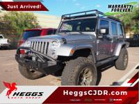 This Jeep Wrangler is a must see with plenty of