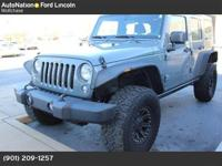 This CLEAN CARFAX, ONE OWNER Jeep has ONLY 7,500 MILES,