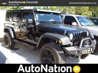 This AWESOME CLEAN CARFAX Wrangler Sport Unlimited is a