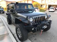 Bushwhacker flat fenders black color,Rockhard 4x4 full