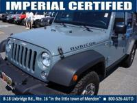 CARFAX 1-Owner, ONLY 8,624 Miles! Rubicon trim.