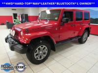 ONE OWNER, BLUETOOTH, HEATED SEATS, LEATHER,
