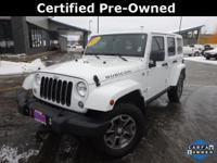 Clean CARFAX. Certified. *JEEP CERTIFIED*, *LOCAL