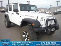 2014 Jeep Wrangler Unlimited Rubicon Priced below KBB
