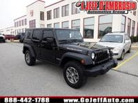 Powerful 4WD, 1 Owner!, And Factory Certified. Wrangler