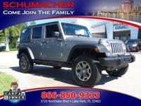 Options:  2014 Jeep Wrangler Unlmtd Rubicon| |Advanced
