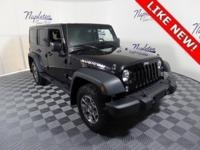 2014 Jeep Wrangler Black Clearcoat Unlimited Rubicon