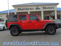 **1-OWNER**CLEAN CARFAX**RUBICON**4X4**LEATHER