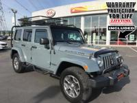 UNLIMITED * 4X4 * HARD TOP * NAV * LEATHER * 3.6L * 5