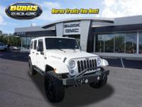 This 2014 Jeep Wrangler Unlimited Rubicon is proudly