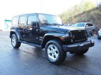 2014 Jeep Wrangler Unlimited Sahara Certified. Clean