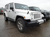 New Price! 4WD. 2014 Jeep Wrangler Unlimited Sahara