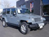 This Jeep Wrangler Unlimited has a strong Regular