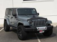 Anvil Clear Coat 2014 Jeep Wrangler Unlimited Sahara