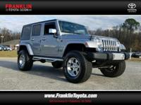 Customer wheels, tires and lift. Wrangler Unlimited
