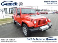 Introducing the 2014 Jeep Wrangler Unlimited Sahara!