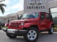 2014 Jeep Wrangler Unlimited Sahara, Only 43071 Miles,
