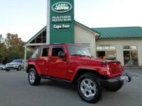 2014 Jeep Wrangler Unlimited Sahara 4x4. One-Owner