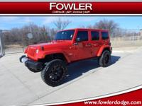4x4, LOADED, SAHARA, ***1-OWNER***, ****LIFTED****,