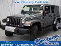 Creampuff! This beautiful 2014 Jeep Wrangler is not