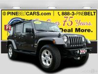 PREMIUM & KEY FEATURES ON THIS 2014 Jeep Wrangler