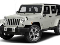 4 Wheel Drive... Safety equipment includes: ABS,