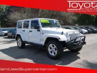 Options:  2014 Jeep Wrangler Unlimited Sahara|Bright