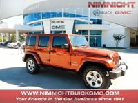 CARFAX 1-Owner, ONLY 35,133 Miles! Sahara trim. Heated