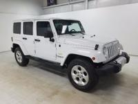 Options:  2014 Jeep Wrangler Unlimited Sahara|There Is