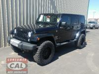Options:  2014 Jeep Wrangler Unlimited 4Wd 4Dr