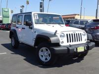 Hard Top. Wrangler Unlimited Sport, 6-Speed Manual,