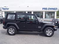 This 2014 Jeep Wrangler Sport 4x4 will sell fast Priced