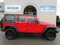 2014 Jeep Wrangler Unlimited Sport 4X4 Hard Top One