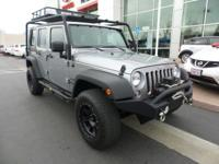 New Arrival! LOW MILES, -4X4 4WD -Aux. Audio Input ABS