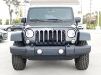 Options:  2014 Jeep Wrangler Unlimited Sport|Black