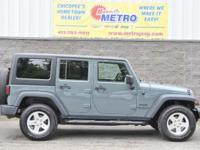 CARFAX One-Owner. Anvil Clear Coat 2014 Jeep Wrangler