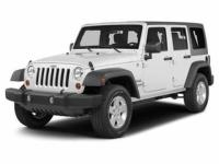 Come test drive this 2014 Jeep Wrangler Unlimited!