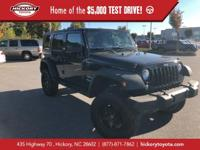 Black Clearcoat 2014 Jeep Wrangler Unlimited Sport 4WD