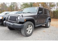 Options:  2014 Jeep Wrangler Unlimited Sport|Meet The