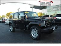 Step into the 2014 Jeep Wrangler Unlimited! This SUV is