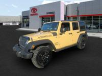 This 2014 Jeep Wrangler Unlimited has been treated with