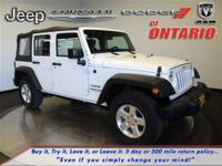 Options:  2014 Jeep Wrangler Unlimited Sport|Bright