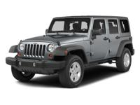 Clean Carfax - 1 Owner. Wrangler Unlimited Sport, 4D