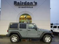 2014 Jeep Wrangler Unlimited Sport 4x4 4WD Hard Top