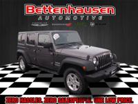 Options:  2014 Jeep Wrangler Unlimited Sport|Gray|Blue